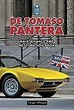 DE TOMASO PANTERA: MAINTENANCE AND RESTORATION BOOK (English editions)