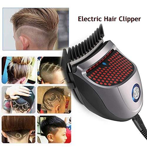 XSLY Petit Raccourci Auto-Haircut Kit Cheveux Clippers Chauve tête Tondeuse à Cheveux Clippers sans Fil Rechargeable Cutter Cheveux Rasage Machine électrique Tondeuse à Cheveux for Adultes Enfants