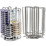 52 rotatif Disque T rangement étagère pour Bosch Tassimo Machine à café Capsule pots à bille (52 Dessous Tour...