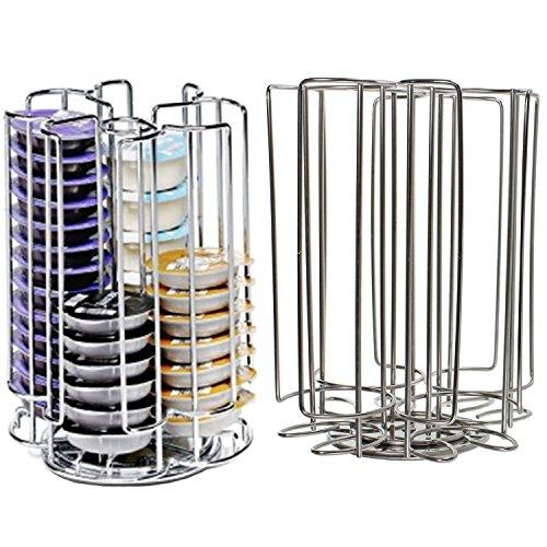 52 rotación de T-Disc soporte para cápsulas de cafetera de cápsulas de Pods (52 soporte para dispensador de torre)