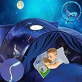 Carpa de niños carpa de cama carpa de juego tienda de ensueño, fácil instalación, el mundo mágico que les gusta a los niño (b-cielo estrellado)