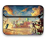 Theskinmantra Bicycle Love 14 inch Designer Laptop Sleeve/Slip case Bag for 14.1 inch