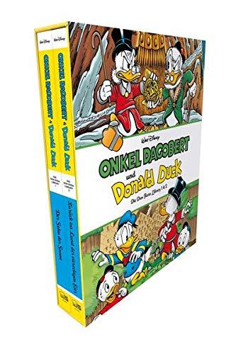 Onkel Dagobert und Donald Duck - Don Rosa Library Schuber 1: Band 01 & 02