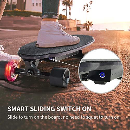 Elektro Skateboard Spadger D5X mit LED-Licht kaufen  Bild 1*