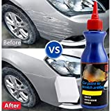 Flurries Scratch and Swirl Remover Kit - Car Paint to Scratch Artifact - Ultimate Car Scratch Repair - Polish Paint Restorer - Maintenance Wax Care Grinding Polishing Liquid with Sponge (White)