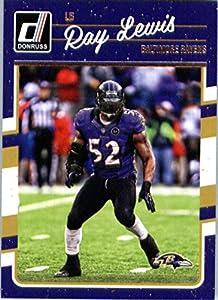 2016 Donruss #28 Ray Lewis Baltimore Ravens Football Card