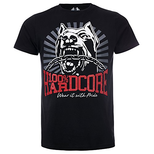 100% Hardcore Camiseta Dog 1 – Negro