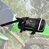 Motorcycle Front Fender Bag Dirt Bike Bag Storage Comes with Tool Roll Bag Dirt Bike Tool Kit Pouch Motorcycle Fender Pack Kit Dirt Bike Fender Bag Front and Rear Tear Proof Enduro Riding