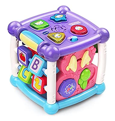 VTech Busy Learners Activity Cube, Purple