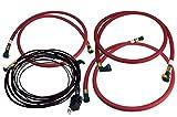 Aeromotive 11804 Hose and Wiring Kit (For Diesel Fuel Pump, 01-10 Duramax)