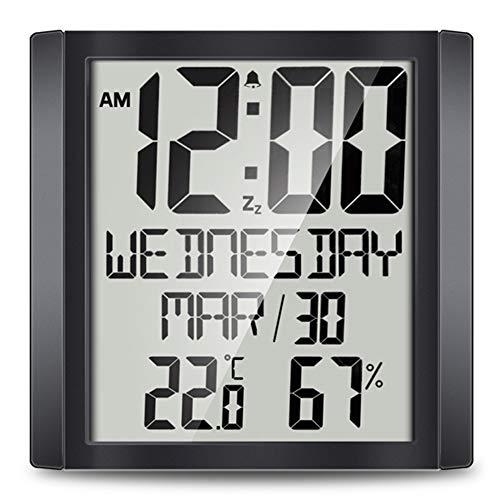 Relojes De Pared Con Termometro E Higrometro  marca Number-One