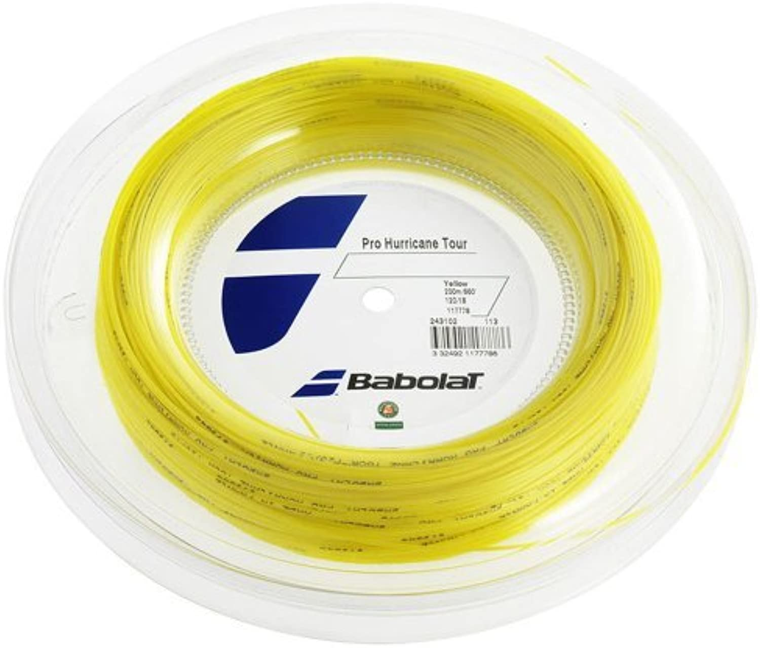 Babolat Pro Hurricane Tour (16g1.30mm) Tennis String Reel (660') by Babolat