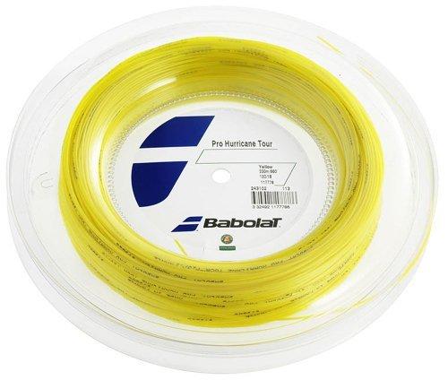 Babolat Pro Hurricane Tour String Reel - Yellow, 1.3 Mm/200 M by