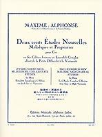 マキシム・アルフォンス : ホルンのための新しい200の練習曲集 第3巻/ルデュック社