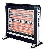 DCG Eltronic SA9724 stufetta elettrica Stufetta al quarzo Interno Nero 2400 W