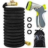 Acepstar 100ft Expandable Garden Hose, Strongest Expandable Water Hose...