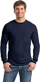 Gildan Mens Heavy Cotton 100% Cotton Long Sleeve T-Shirt