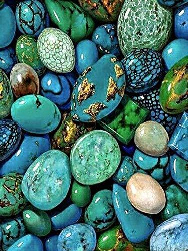 5D DIY diamante pintura paisaje piedra diamante bordado amor diamantes de imitación mosaico pintura decorativa A3 60x80cm