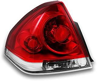 For Chevy Impala Replacement Red Clear Tail Lights Driver Rear Lamps New