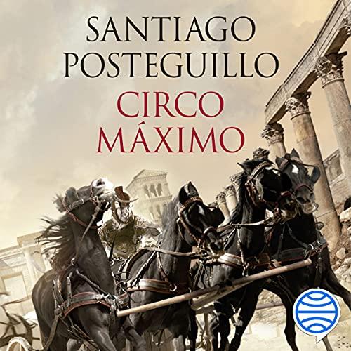 Diseño de la portada del título Circo Máximo