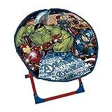 Avengers Fauteuil Forme Ronde pour Enfants, Polyester, Multicolore, 50 x 50 x 50 cm