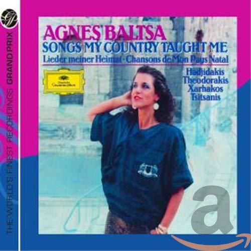 Songs My Country Taught Me (2010)Agnes Baltsa Sings Greek Songs
