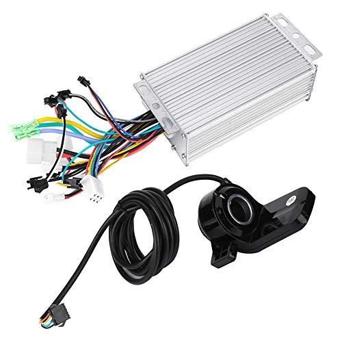 Controlador de bicicleta eléctrica, panel de pantalla LCD Controlador eléctrico sin escobillas Controlador de motor de scooter con modo de suspensión y modo de ajuste de marcha para(500W60V, Azul)