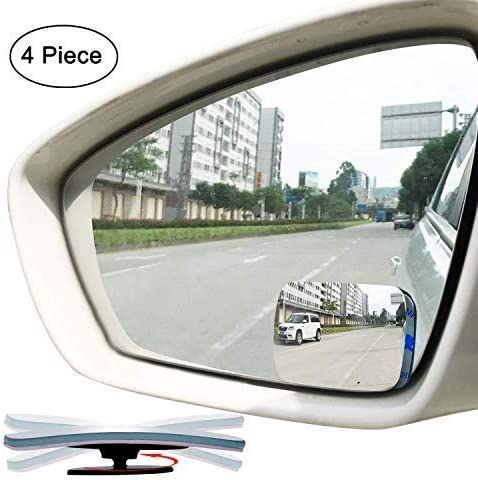 "Stick-On Convex Mirror 3 3//4/"" Miroir Convex Lot of 5"