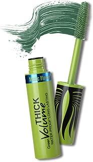 gLoaSublim Lash Mascara,Music Flower Colored 3D Mascara Waterproof Quick-dry Eyelash Extension Makeup Green
