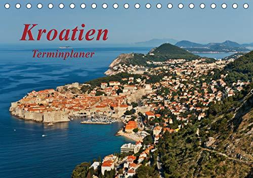 Kroatien/CH-Version/Geburtstagsplaner (Tischkalender 2021 DIN A5 quer)