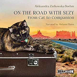 On the Road with Suzy audiobook cover art