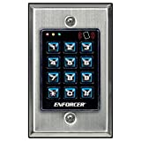 Seco-Larm Enforcer Access Control Keypad with Proximity Reader, Backlit (SK-1131-SPQ)...