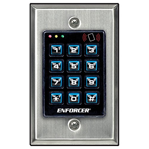 Seco-Larm Enforcer Access Control Keypad with Proximity Reader, Backlit (SK-1131-SPQ)