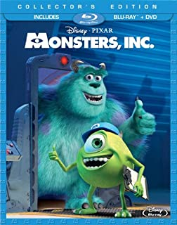 Monsters, Inc. (Collector's Edition) [Blu-ray + DVD] (Sous-titres français) (B00A822VDY) | Amazon price tracker / tracking, Amazon price history charts, Amazon price watches, Amazon price drop alerts