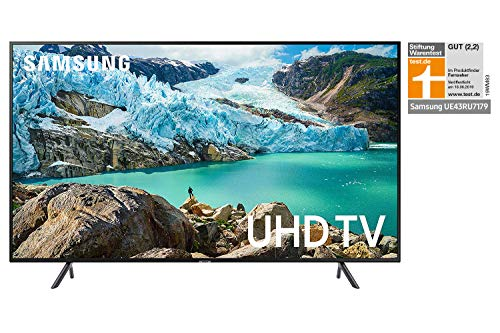 Samsung RU7179 Led-tv, ultra HD, HDR, Triple Tuner, Smart TV 43 inch zwart [Energieklasse A]