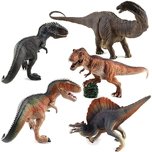 WWYYZ 5 Uds, Figura Realista del Mundo Jurásico, Juguete De Dinosaurios para Niño, Modelo De Dinosaurio, Juguetes, Regalo para Niños