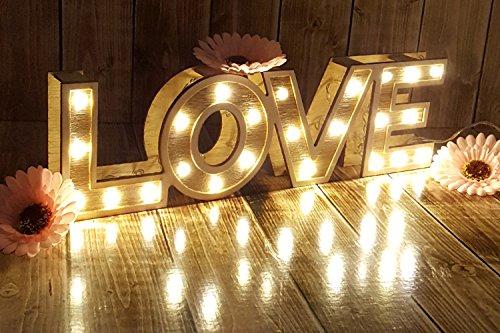 """LED Leuchtschrift """"LOVE"""" - 2"""