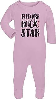 Shirtgeil Baby Musik Geschenk Future Rock Star Baby Strampler Strampelanzug