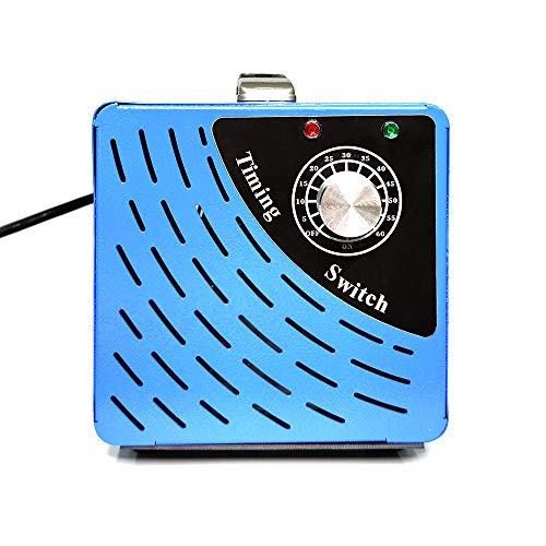 Ozongenerator Geruchskiller, Ozon Luftreiniger Ozongerät Ozonisator mit Timer für Zimmer (10.000mg/Std, Blau)