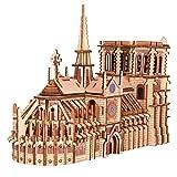 Puzzle 3D Bois Puzzle 3D Mécanique Modèle en Bois mecanique découpé au Laser Casse Tete Jeux de Construction Maquette Jeux de Construction - etablis Bricolage Enfant Jeu de Construction en Bois Adulte