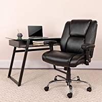 If standard office chairs don't meet your specific needs, this Big & Tall adjustable office chair will save the day. Generous padding, LeatherSoft upholstery and ergonomic features give a custom fit that will get you comfortably through your workday....