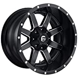 FUEL Maverick NBD-Matte BLK MIL Wheel with Painted (17 x 10. inches /6 x 135 mm, -24 mm Offset)
