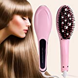 Antson Hair Electric Comb Brush 3 in 1 Ceramic Fast Hair Straightener For Women's Hair Straightening...