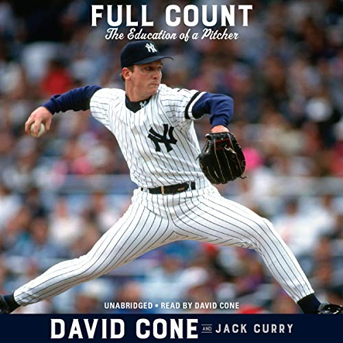 Full Count     The Education of a Pitcher              By:                                                                                                                                 David Cone,                                                                                        Jack Curry - contributor                               Narrated by:                                                                                                                                 David Cone                      Length: 12 hrs and 31 mins     37 ratings     Overall 4.8