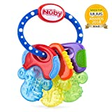 Nuby Chiavi Massaggiagengive IcyBite Con Gel PureIce 3m+ 1 Pezzo