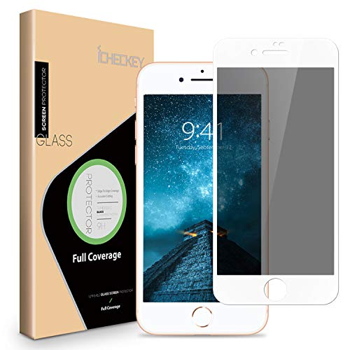 ICHECKEY Privacy Screen Protector for iPhone 8 Plus/ 7 Plus - ICHECKEY...