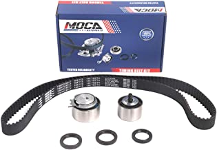 MOCA Timing Belt Kit with Tensioner for 2003-2010 Chrysler PT Cruiser Sebring & Dodge Caravan Stratus Neon & Jeep Wrangler 2.4L L4