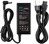 Dtk 19V 3.42A 65W AC Adapter for Asus Toshiba Laptop Computer Charger Notebook PC Power Cord Supply Source Plug Connector Size: 5.5 x 2.5mm