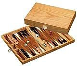 Philos 1165 - Backgammon Mathraki, klein, Holz -