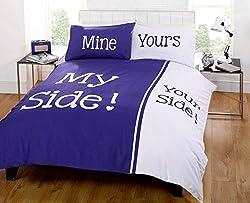 Bettdecke Deine Seite – meine Seite!